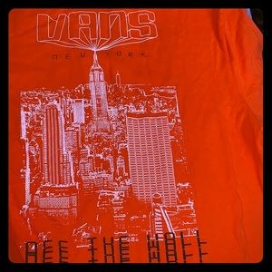 Vans Off The Wall New York City Tee